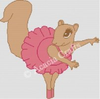 Ballerina Squirrel
