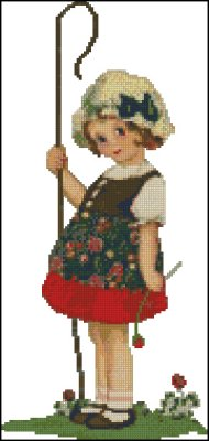 Shepherd Girl - Click Image to Close