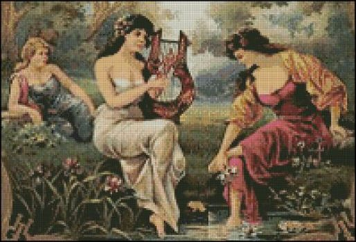 Three Maidens - Click Image to Close