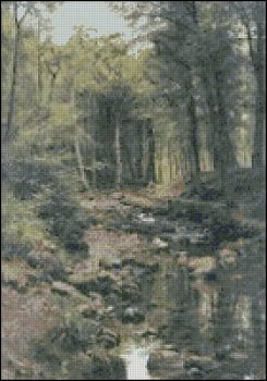 Woodland Landscape - Click Image to Close